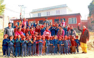 ネパール大地震復興支援1