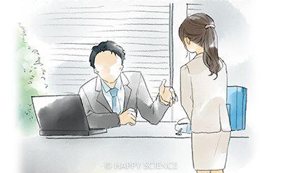 上司に叱られる