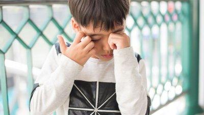「息子にチック症状が」イメージ
