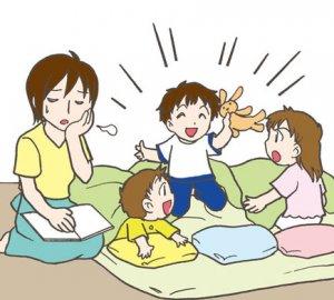 寝る前の読み聞かせを始めると、大さわぎになってしまいます。【子育て相談】