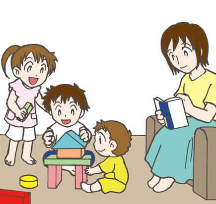 ママの後ろ姿を見せる【子育て相談】