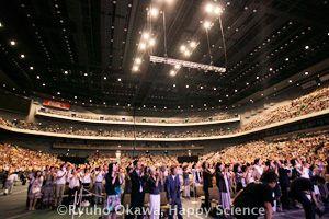 2012.07.26 御生誕祭大講演会「希望の復活」_会場内写真